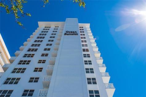 View Ocean Summit condominium Galt Ocean Mile Fort Lauderdale