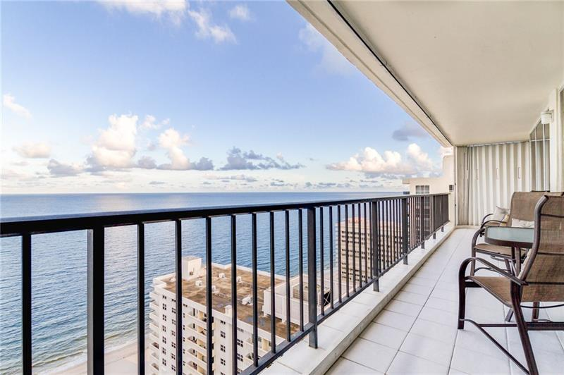 View from one of our Plaza South Galt Ocean Mile condos for sale - 4280 Galt Ocean Dr, Fort Lauderdale, FL