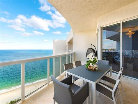 View Luxury 3 Bedroom Galt Ocean Mile condo recently sold L'Hermitage Fort Lauderdale