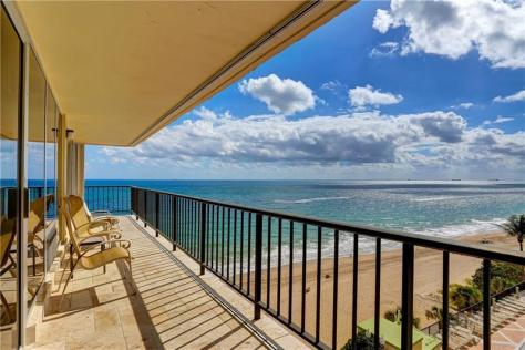 View Galt Ocean Mile condo recently sold Plaza South - Unit 6P