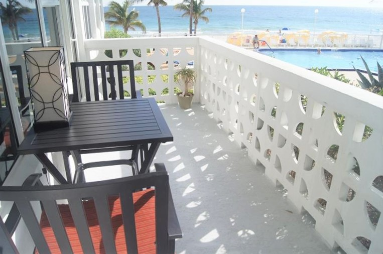 View from one of the Ocean Summit 4010 Galt Ocean Drive Fort Lauderdale condos for sale