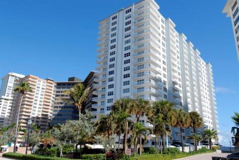 Regency Tower South condominium 3750 Galt Ocean Drive Fort Lauderdale