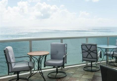Look at the sweeping views from L'Hermitage Unit 2401 pending sale!