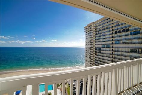 View 3 bedroom Galt Ocean Mile condo recently sold Plaza East Fort Lauderdale