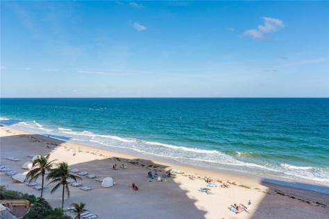 View 2 bedroom Galt Ocean Club Galt Ocean Mile condo recently sold - Unit 605