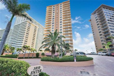 Regency Tower Condominium 3850 Galt Ocean Drive Fort Lauderdale Florida