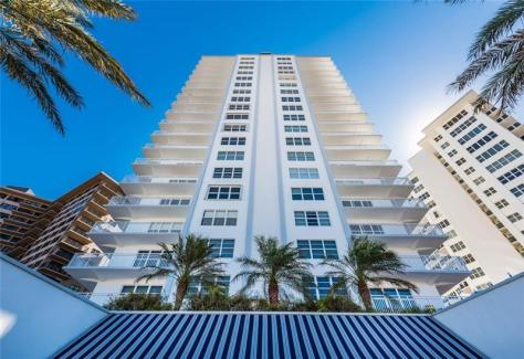 View Regerncy Tower South condominium 3750 Galt Ocean Drive Fort Lauderdale