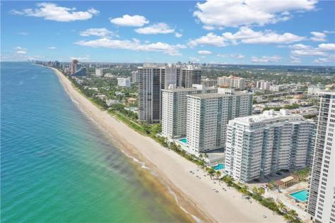 View Commodore condominium 3430 Galt Ocean Drive Fort Lauderdale