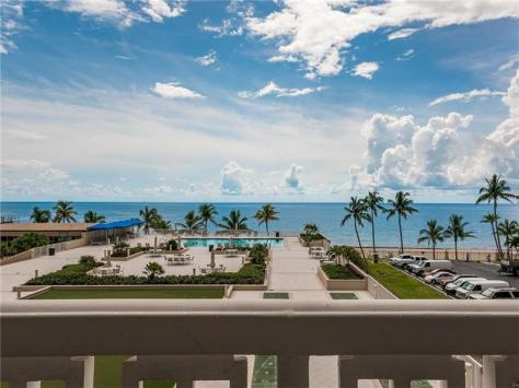 View Plaza East 4300 N Ocean Blvd Fort Lauderdale condo pending sale - Unit 3A