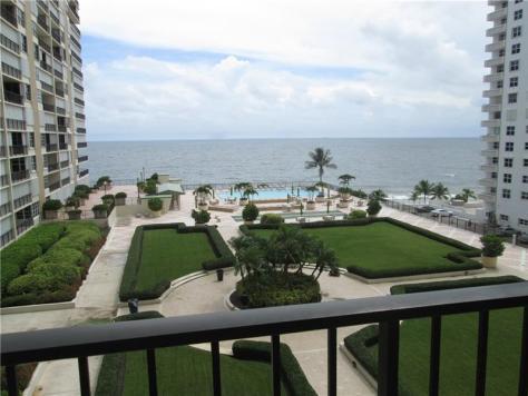 View Plaza South 4280 Galt Ocean Drive Fort Lauderdale condo pending sale - Unit 8B