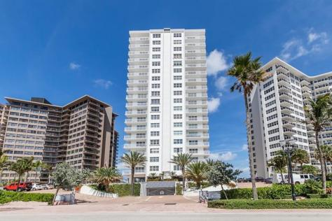 Regency Tower South condominium 3750 Galt Ocean Drive Fort Lauderdale
