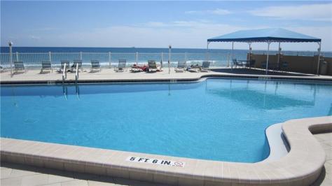 Pool views Caribe Inc Galt Ocean Mile Fort Lauderdale