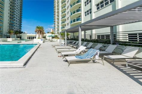 Pool / Sundeck views Southpoint Galt Ocean Drive condo for sale