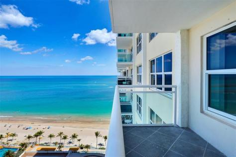 View 1 bedroom Galt Ocean Mile condo sold 2018 Playa del Mar 3900 Galt Ocean Drive Fort Lauderdale