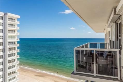 View 1 bedroom Galt Ocean Mile condo sold 2018 Royal Ambassador Galt Ocean Drive Fort Lauderdale