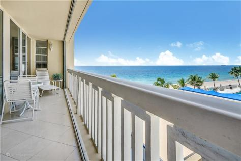 View 2 bedroom Galt Ocean Mile condo sold 2018 Plaza East 4300 N Ocean Blvd Fort Lauderdale - Unit 4N