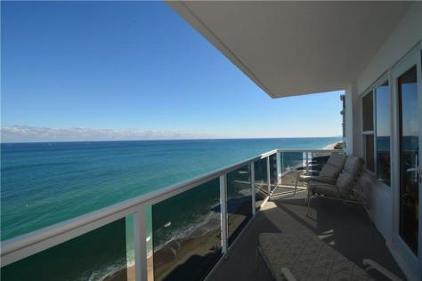 View 2 bedroom Galt Ocean Mile condo sold Royal Ambassador 3700 Galt Ocean Drive Fort Lauderdale Unit 1606