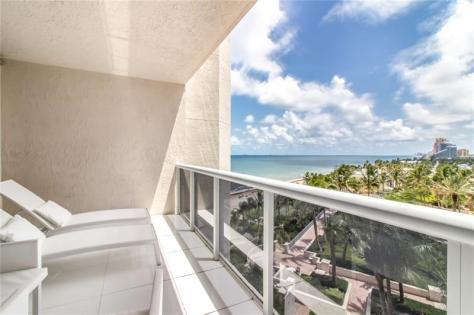 View 2 Bedroom Galt Ocean Mile condo recently sold L'Hermitage 3100-3200 N Ocean Blvd Fort Lauderdale - Unit 806
