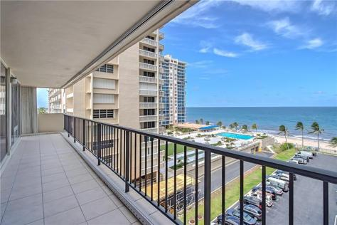 View 3 bedroom Galt Ocean Mile condo recently sold Plaza South 4280 Galt Ocean Drive Fort Lauderdale - Unit 6F