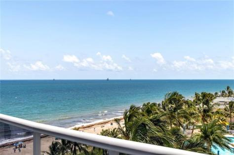 View from one of the luxury Galt Ocean Mile condos recently sold in L'Hermitage