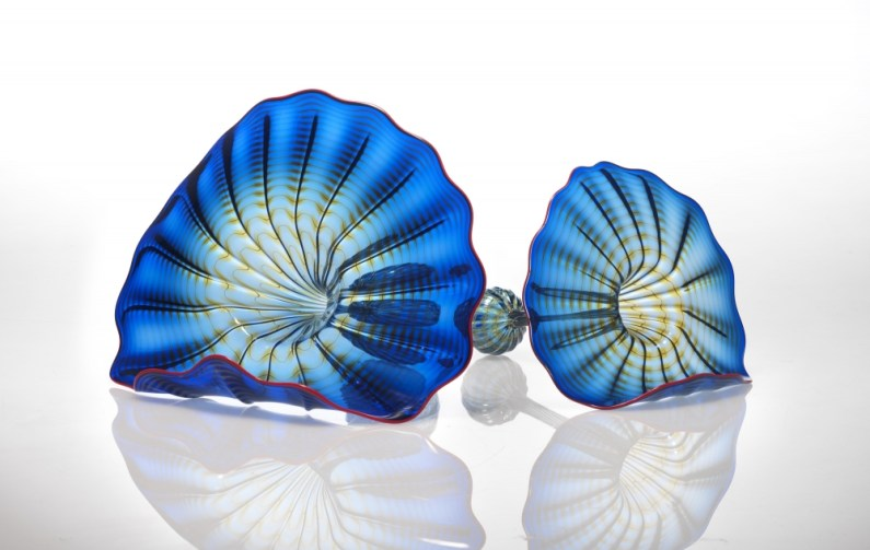 Dale Chihuly-Azzuro Blue Persian-1998