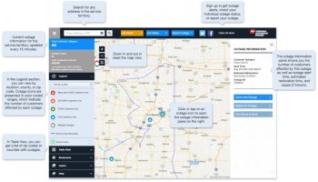Indiana And Michigan Power Outage Map.I M Employees Support United Way Fort Wayne Ne Indiana News