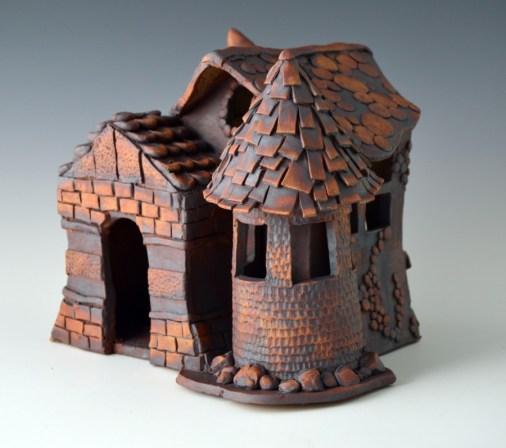 Carroll H Schl_Jackson_Krista_Ceramics & Glass_birdhouse1
