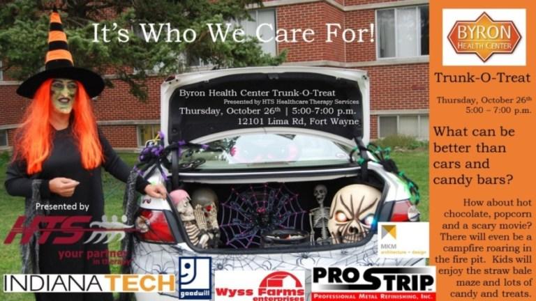 Halloween Trunk-O-Treat 2017 art cube sponsors