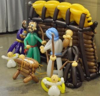 Balloon Nativity 2