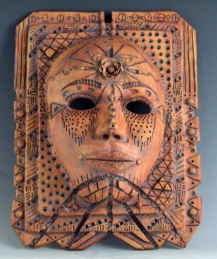 Carroll HS_Chitwood_Danni_Ceramics & Glass_African Warrior_1