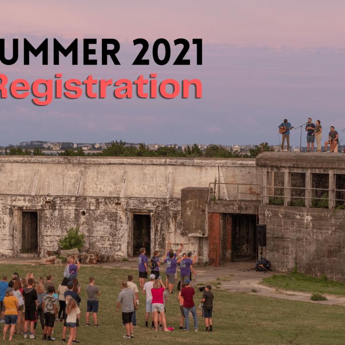 Summer Registration 2021