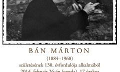 Bán Márton emlékest