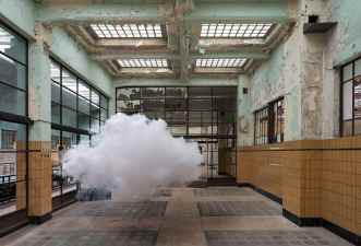 """Promotional image for an independent MESA led by the Dutch """"cloud artist"""" Berndnaut Smilde"""