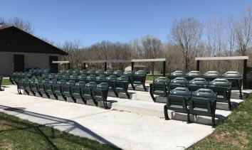 Stadium Seating at Memorial Park