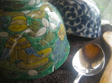 bowls and spoon
