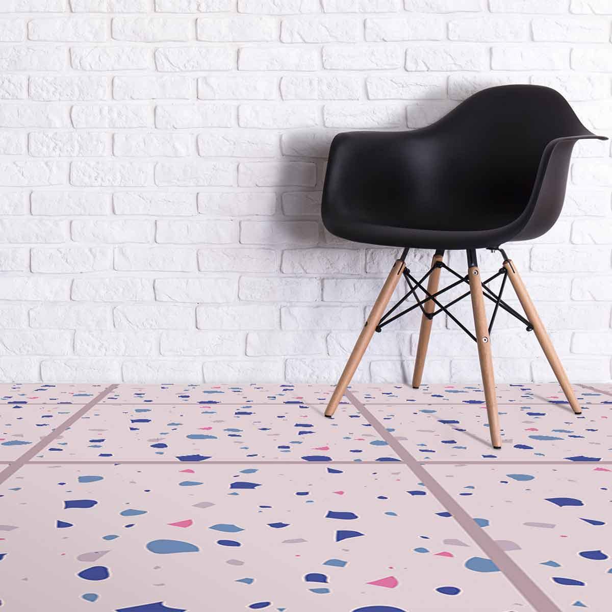 chiara terrazzo style italian faux tile