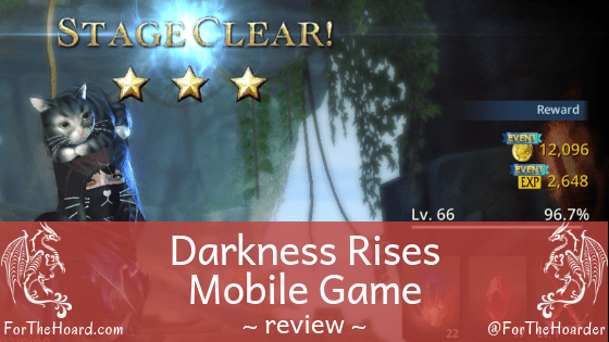 Review of Darkness Rises ~ ForTheHoard.com