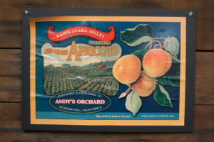 Andy's Orchard label