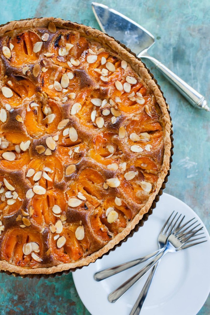 Lisa's Award Winning Apricot Almond Tart