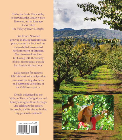 Back cover For the Love of Apricots