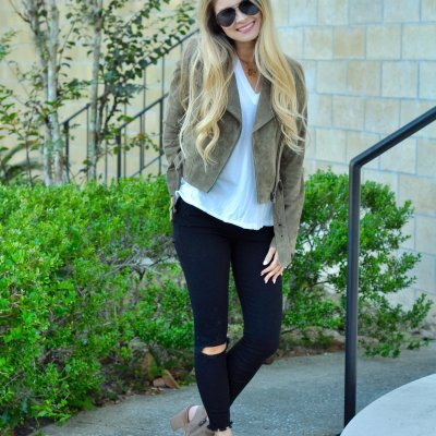 Suede Jacket Under $100 + IG Giveaway