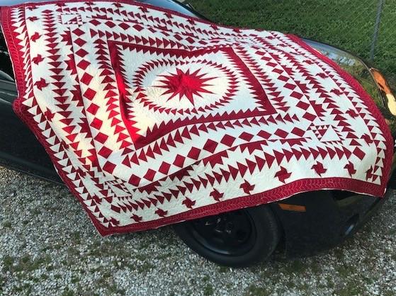 Recreating a quilt