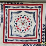 wind rose quilt, flying geese quilt, compass quilt, medallion quilt