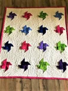 3d pinwheel quilt