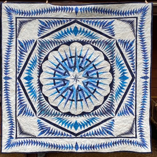 winds of change pape pieced quilt