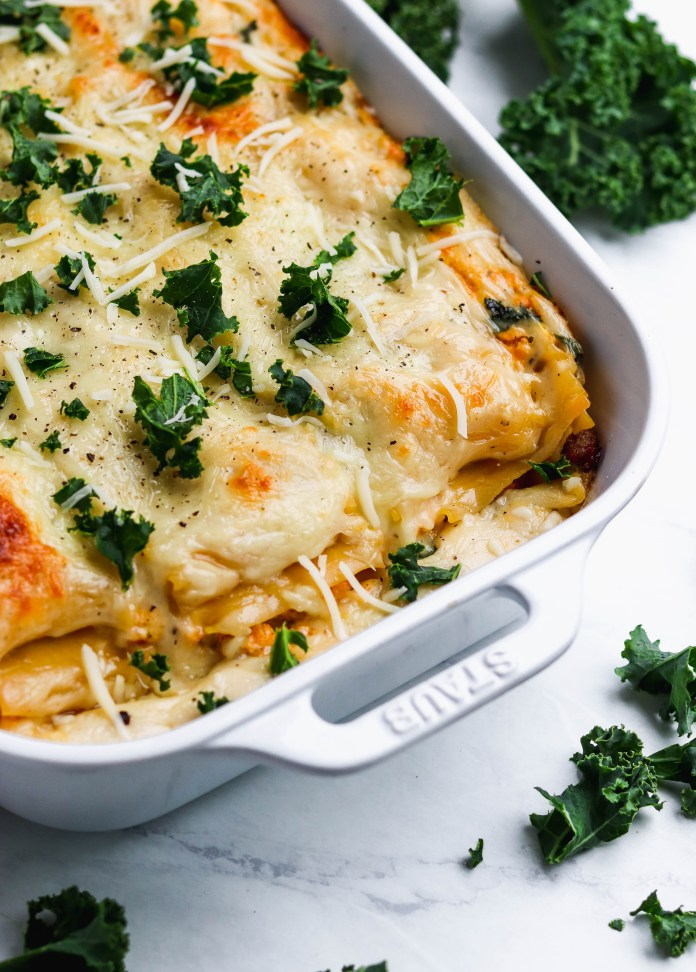 butternut squash and kale lasagna - for the love of gourmet