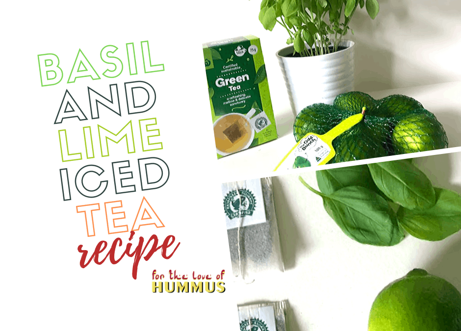 Lime & Basil Iced Tea Recipe