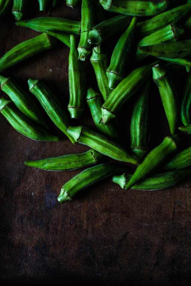 Fresh Okra   for the love of the south