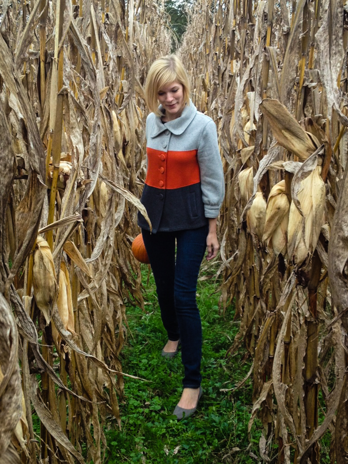 Walking Through Corn Stalks | for the love of the south