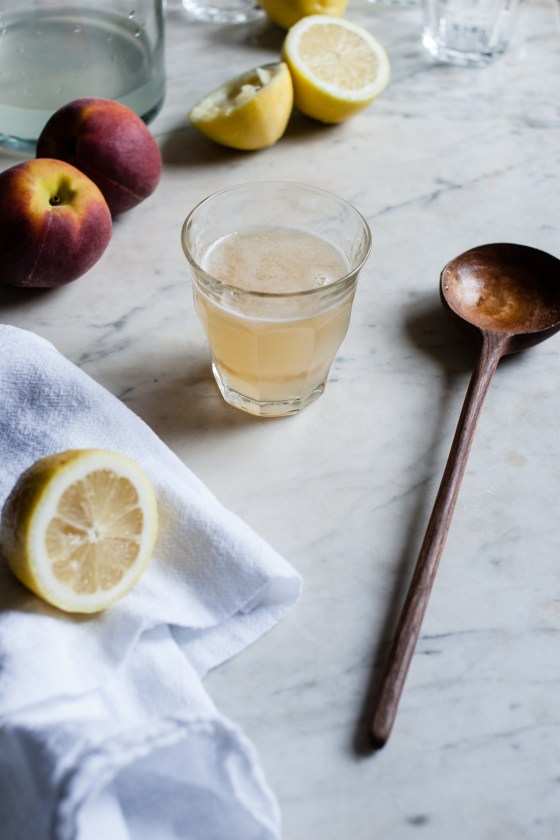 Peach Lemonade | for the love of the south